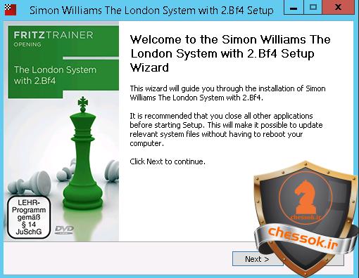 فیلم آموزش کامل  شروع بازی سیستم لندن The London System with 2.Bf4