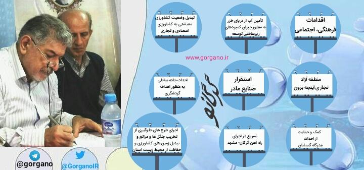 درازگیسو در نامه ای به دکتر روحانی مطالبات گلستان از دولت دوازدهم را نوشت