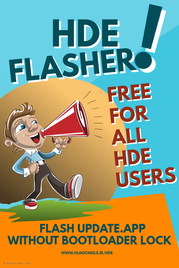 HDE TOOL(FLASHER VER 0.44)Released Add Super professional Flasher For Huawei Phones