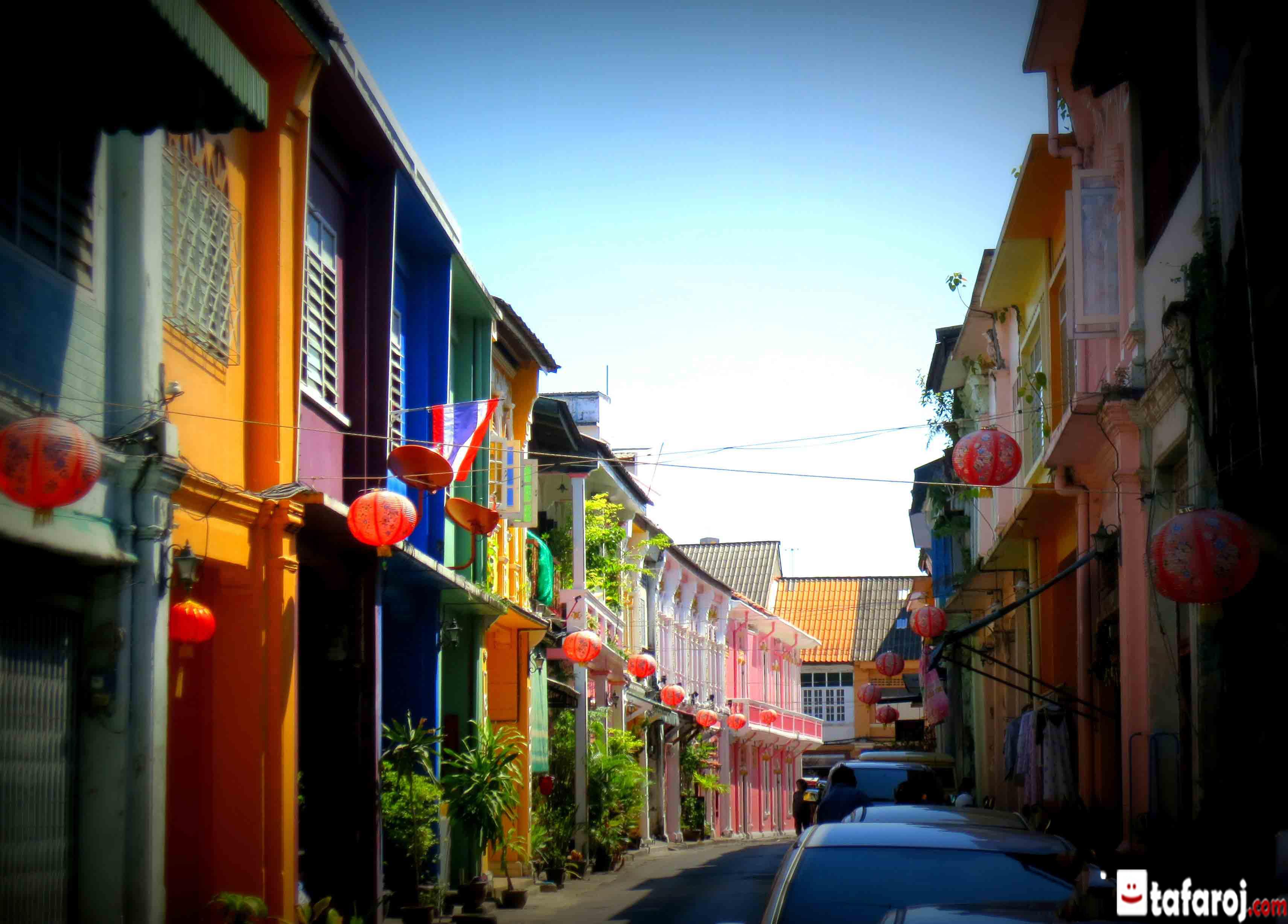 شهر قدیمی پوکت تایلند