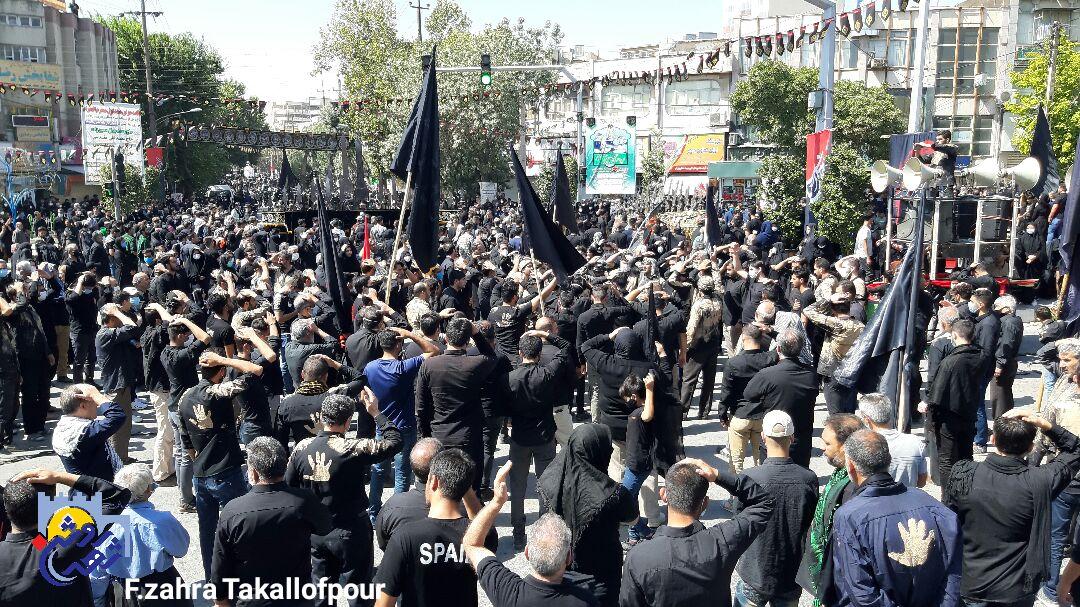 عاشورای حسینی در دروازه نجف برگزار شد