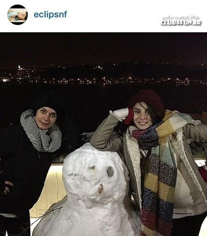 اثر هنری نور فتاح اوغلو و دوستش
