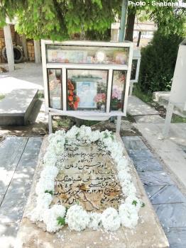 مزار شهید شباهنگ خوجین خلخال