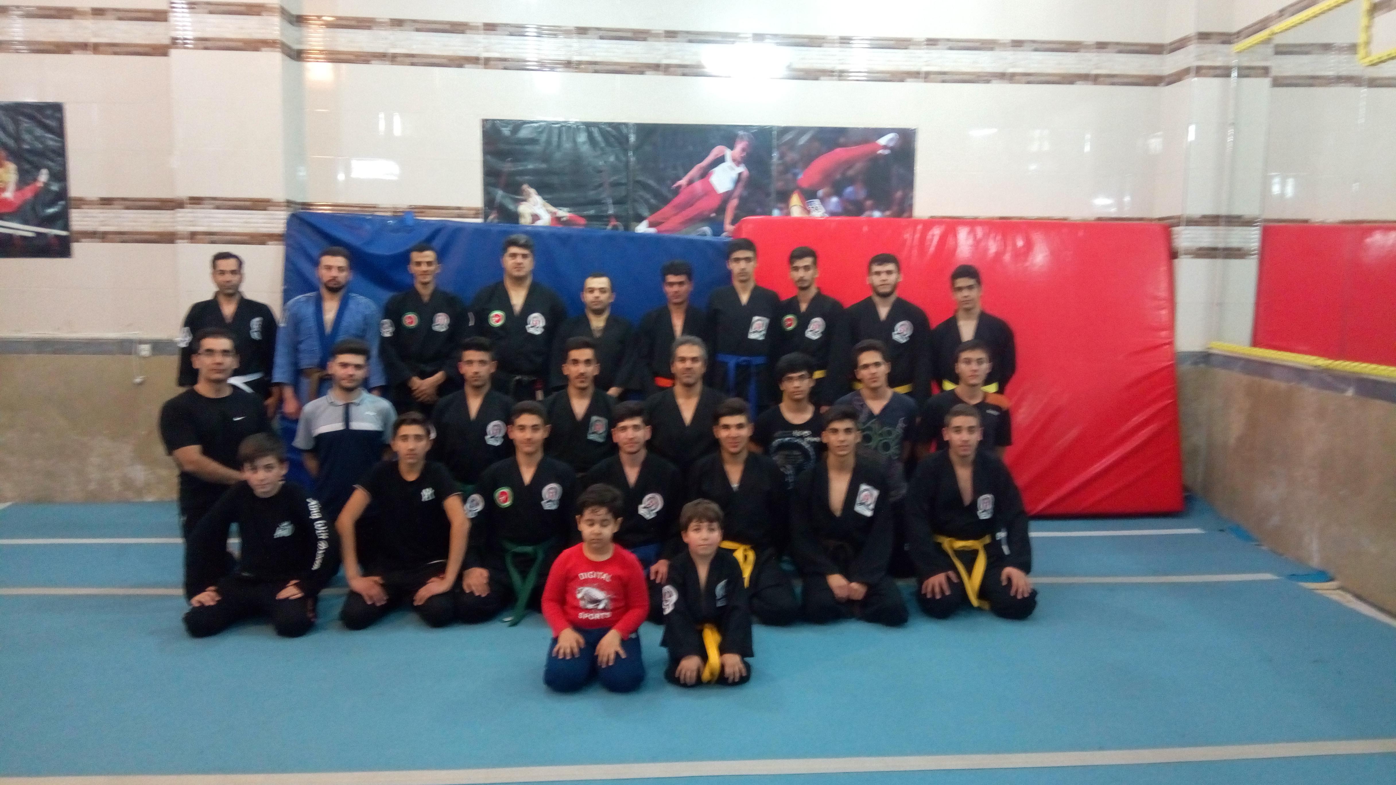 آموزش دفاع شخصی در سطح جهانشهر تبریز