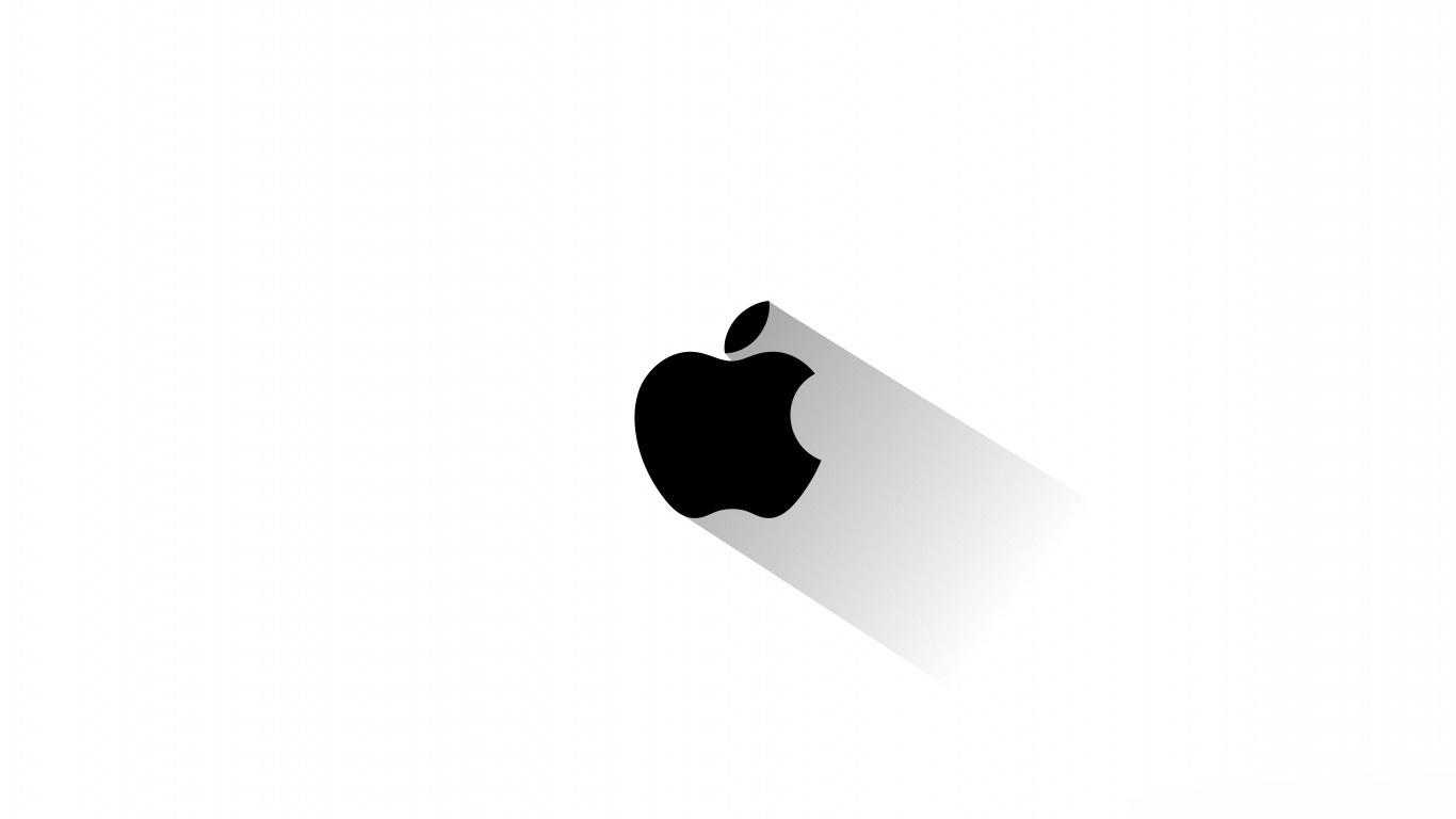 والپیپر اچ دی لوگو اپل