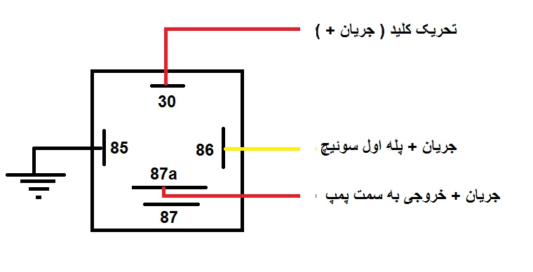 bosch relay wiring diagram for horn