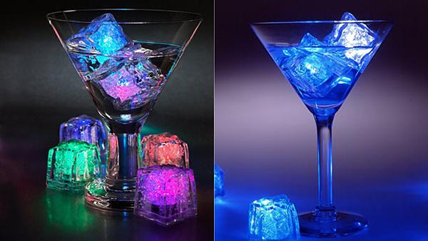 خرید پستی  یخ LED هفت رنگ 8 عددی
