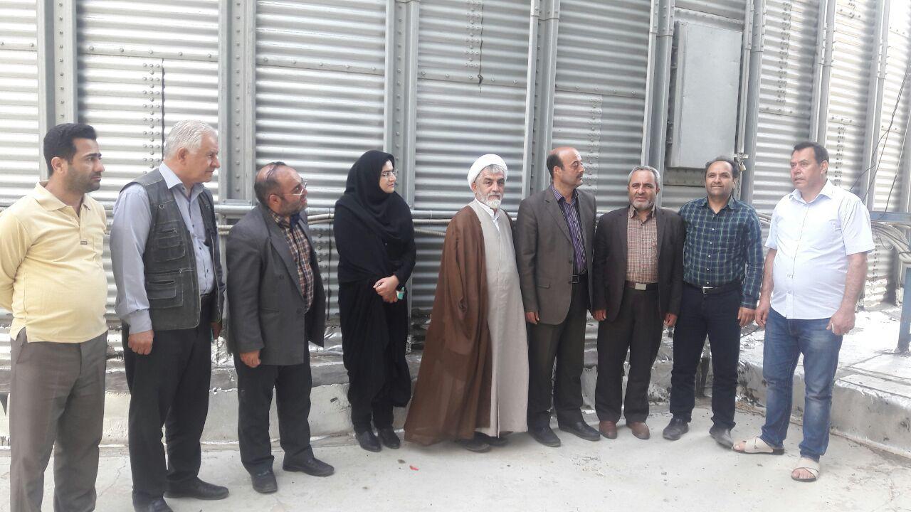 بازدید سرزده رئیس سازمان جهاد کشاورزی استان از مراکز خرید شهرستان گرمی