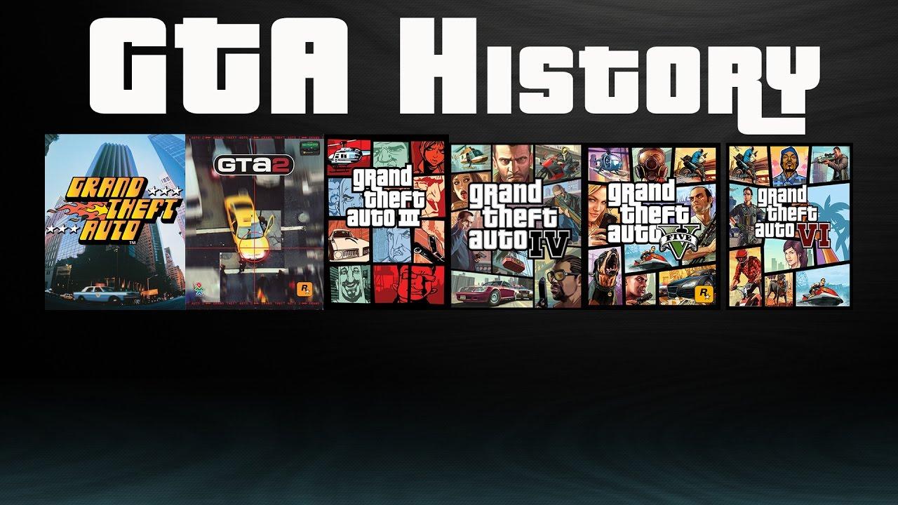 گیم پلی بازی GTA در گذر زمان