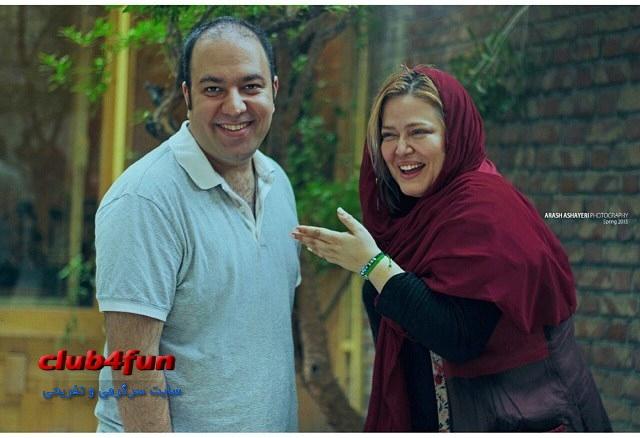 رفاقت علی اوجی با بهاره رهنما و خانواده اش