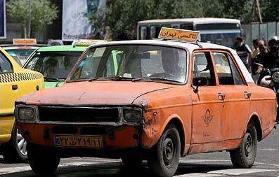 راننده تاکسی و گرفتاری