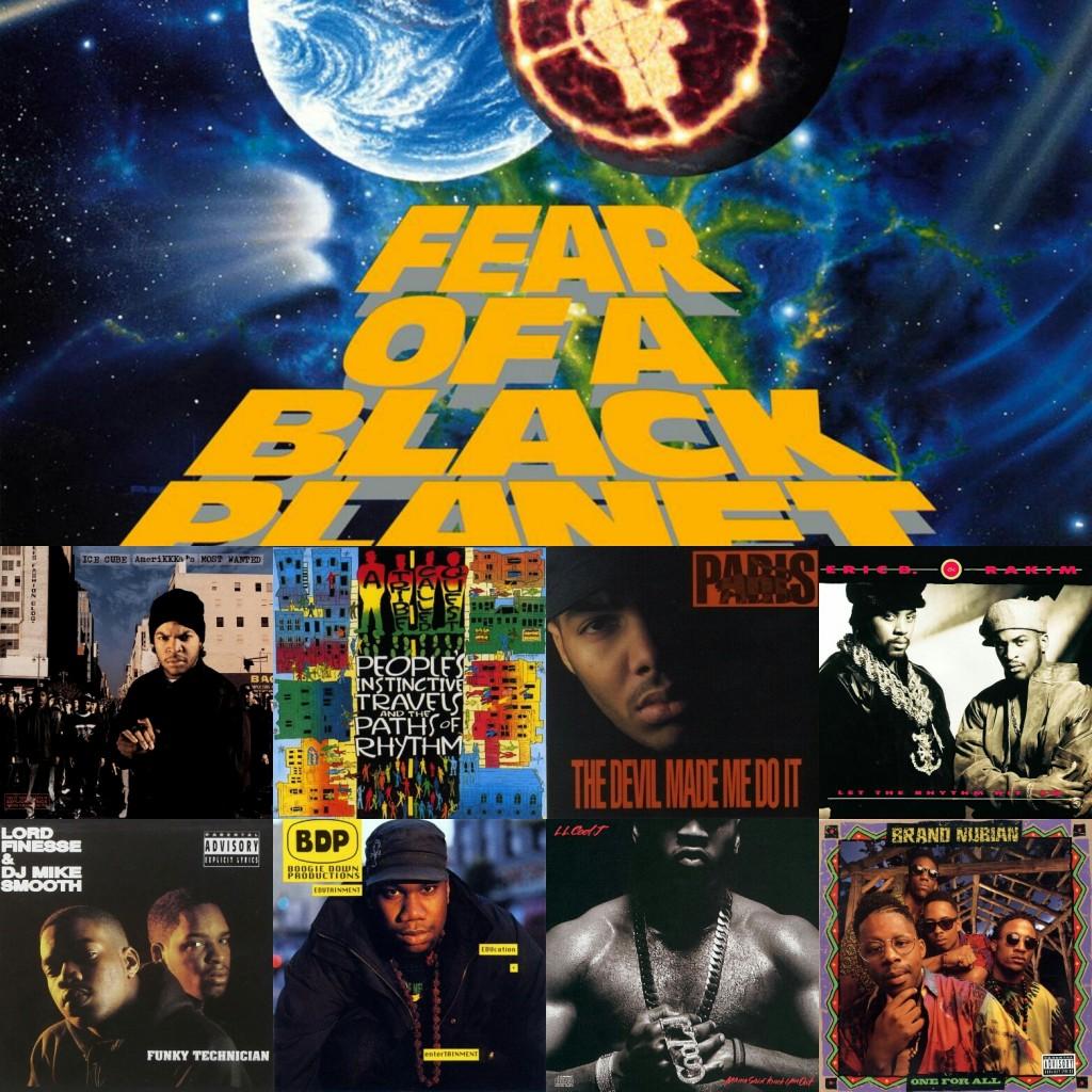 بهترین آلبوم های سال 1990 در سبک هیپ هاپ