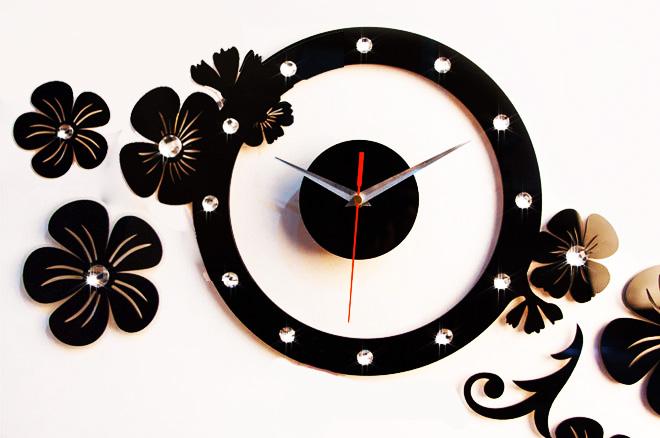 ساعت دیواری طرح یاسمین Yasamin