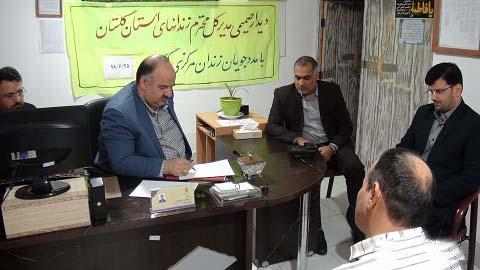 دیدار صمیمی مدیر کل زندانهای استان گلستان با مددجویان اندرزگاههای زندان مرکزی گرگان