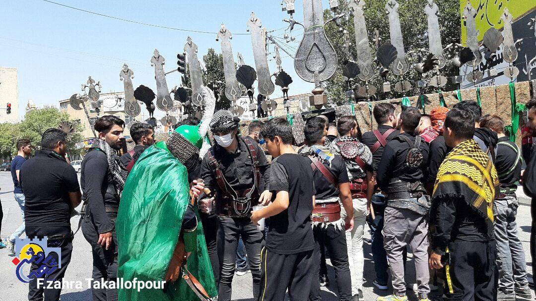 مراسم تاسوعای حسینی در کرمانشاه برگزار شد