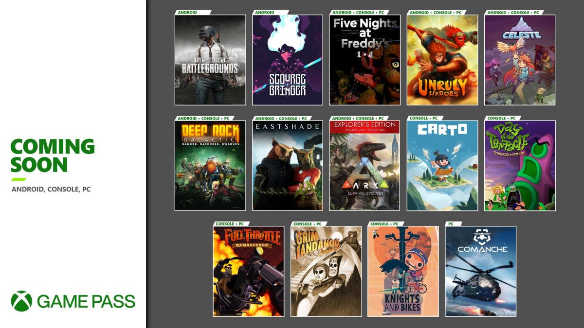 عناوین ماه نوامبر سرویس Xbox Game Pass معرفی شدند، 14 عنوان در راه Game Pass