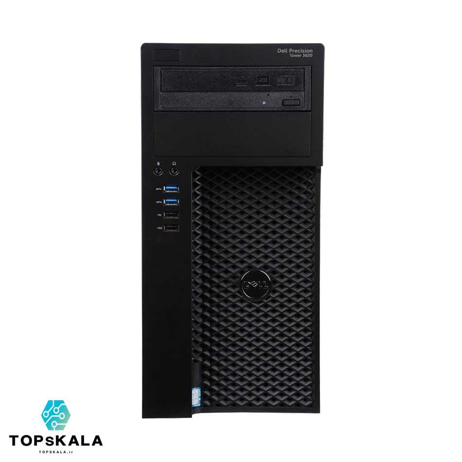 کامپیوتر / کامپیوتر استوک دل مدل Dell WorkStation T3620 - پردازنده Intel Core i7 6700 با گرافیک Nvidia GT 730