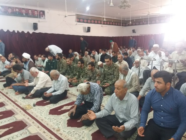 پایگاه سلمان فارسی-نماز جمعه