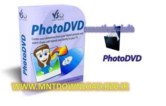 ساخت اسلایدشو با عکس VSO PhotoDVD 4.0.0.37 Final