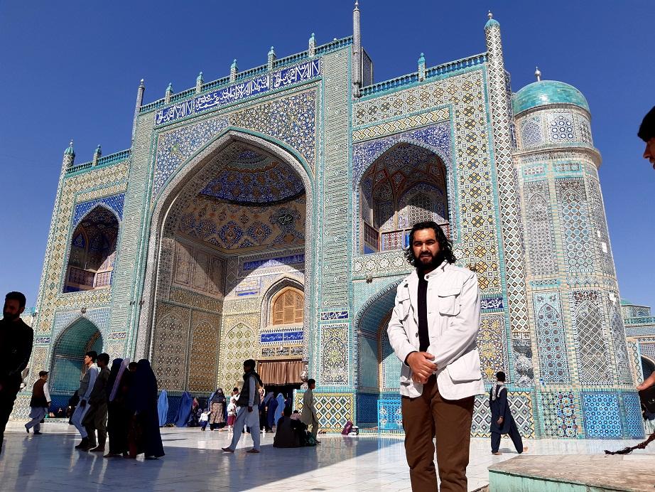 شهر مولا علی مزار شریف تصویر احمد محمود امپراطور