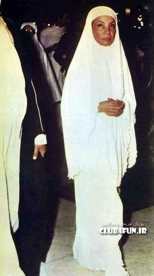 اشرف پهلوی در لباس احرام
