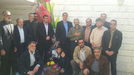 دیدار ستاد یادواره با خانواده ی شهید حججی
