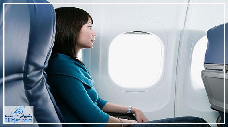 چرا شیشه های هواپیما گرد یا بیضی است؟