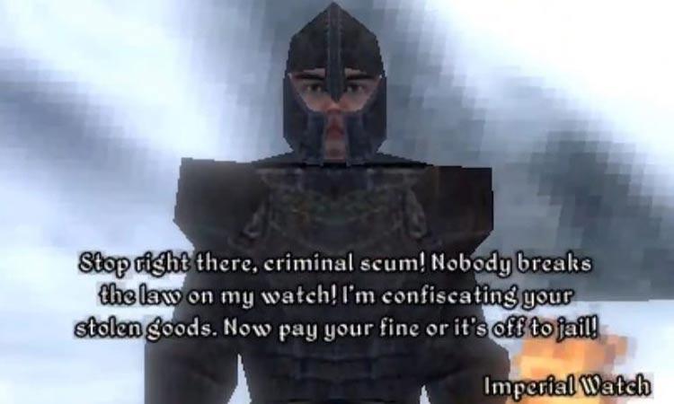 The Elder Scrolls 4