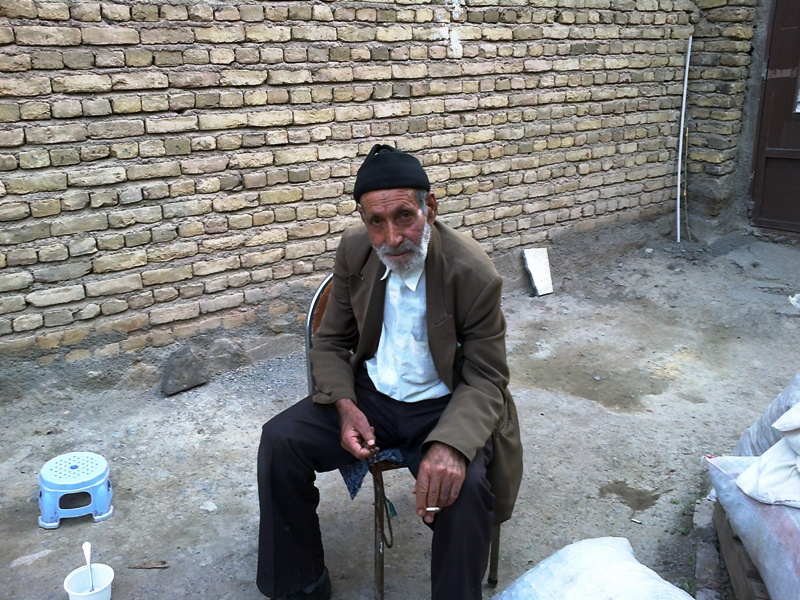 عكسي از حاجي علي عليزاده