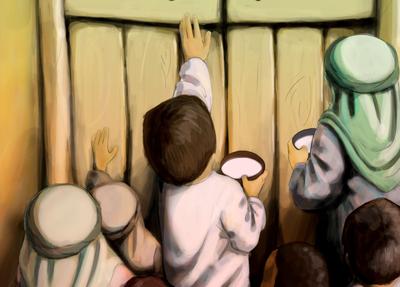 کاسه های شیر در شهادت امام علی علیه السلام