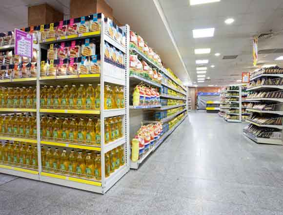 طراحی دکوراسیون داخلی سوپرمارکت کوچک