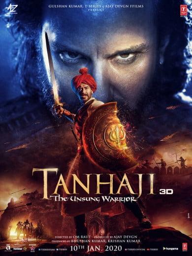 دانلود دوبله فارسی فیلم Tanhaji The Unsung Warrior 2020