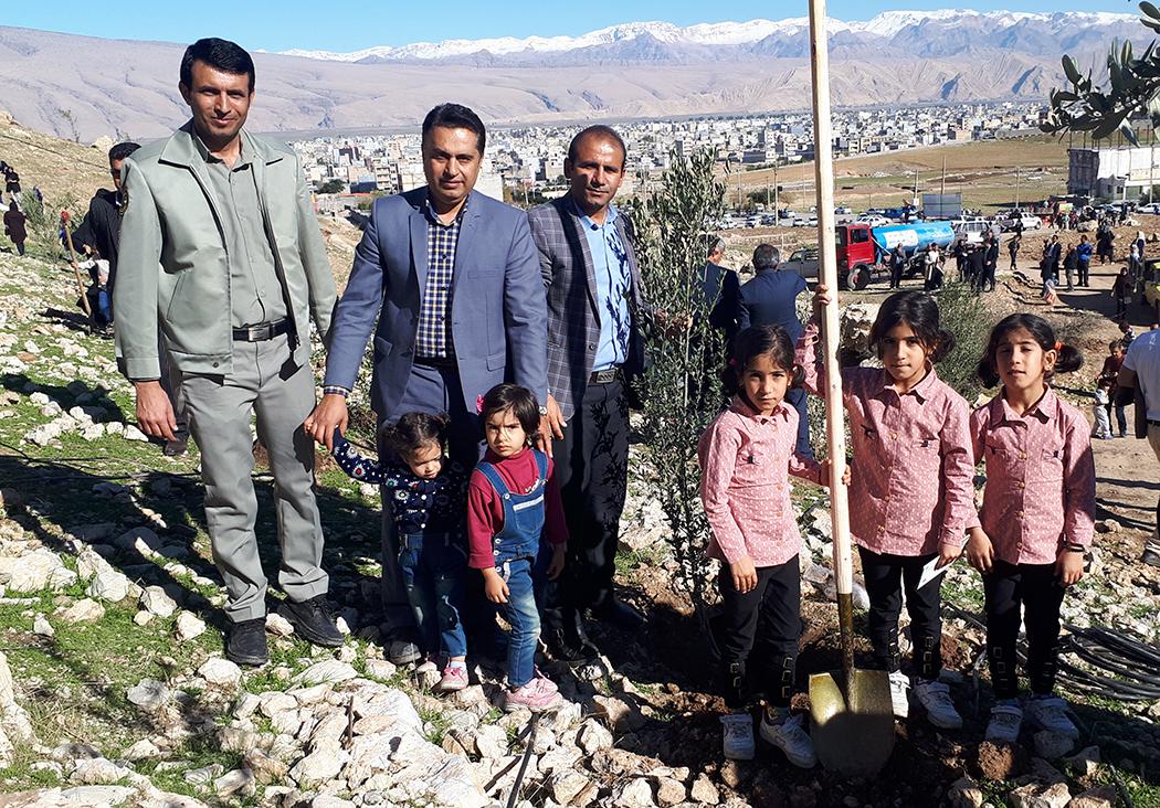 احند امیری رئیس اداره محیط زیست شهرستان ایذه