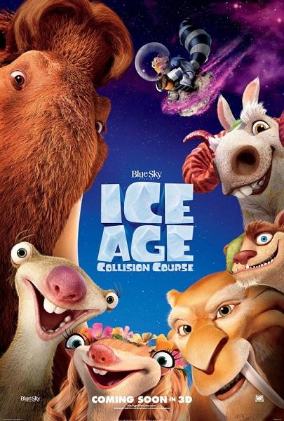 دانلود انیمیشن Ice Age: Collision Course 2016 (با دوبله فارسی)