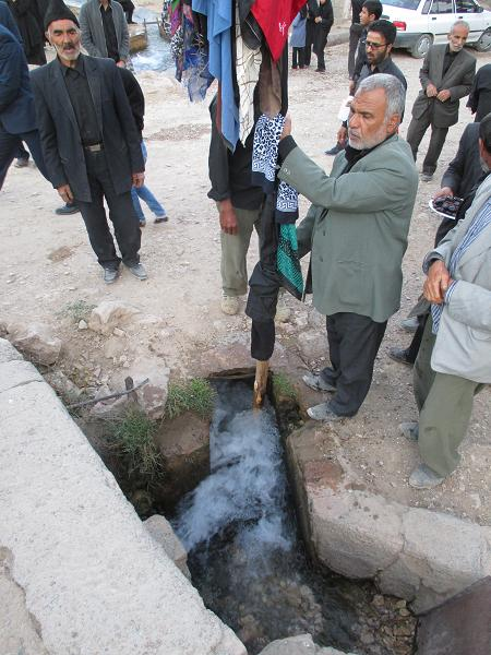 تاسوعای حسینی درآبیز