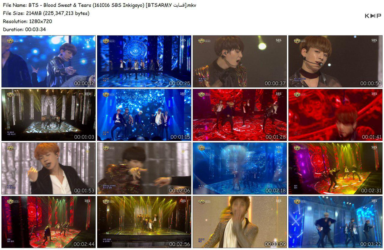 1thp photo 2018 06 16 18 33 08 (2) - Video/Link] BTS Performance Music Show 2nd Full Album 'Wings' Blood Sweat & Tears]