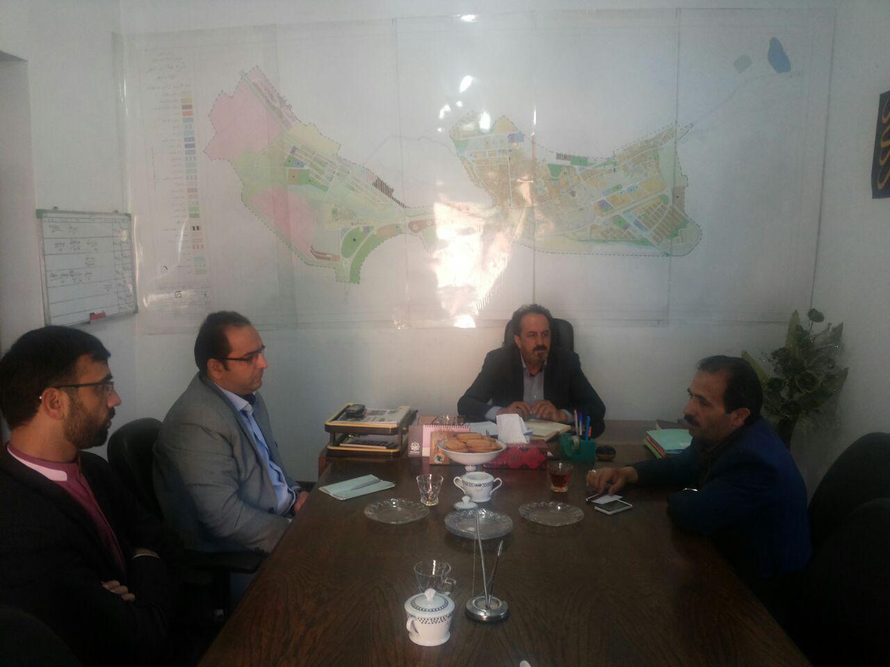 جلسه هماهنگی برگزاری مراسم نیمه شعبان در محل شورای شهر برگزار شد