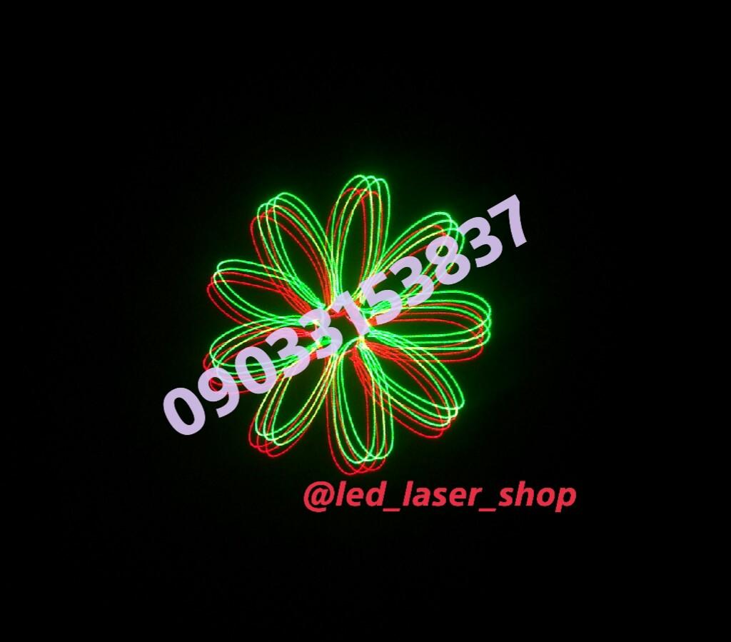 نمونه افکت لیزر تبلیغاتی یا لیزر متن نویس و لوگو انداز