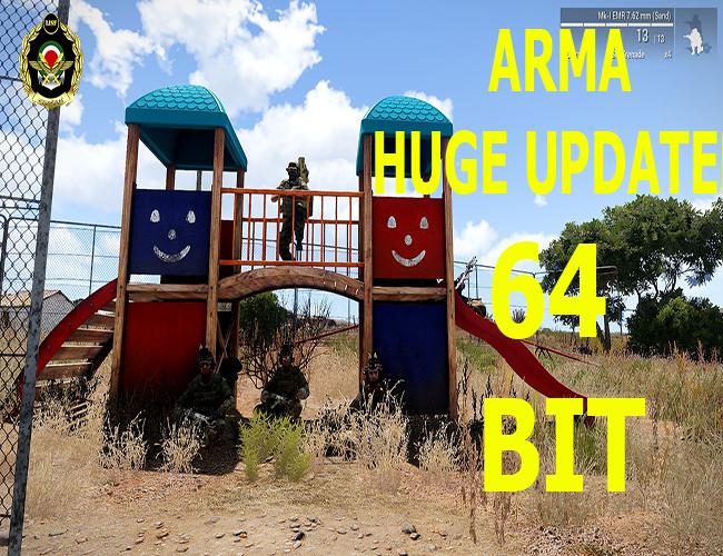 [اخبار] پیش به سوی Arma 64 bit