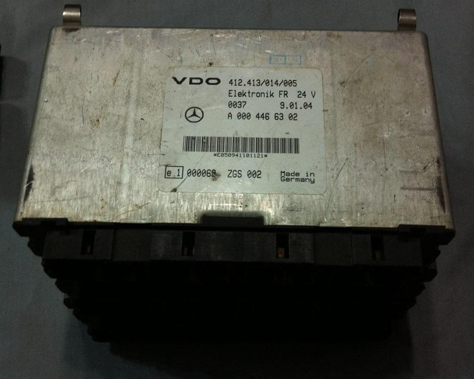 کنترل یونیت وی دی او اف ار مرسدس بنز  VDO ELEKTRONIK FR 24 V