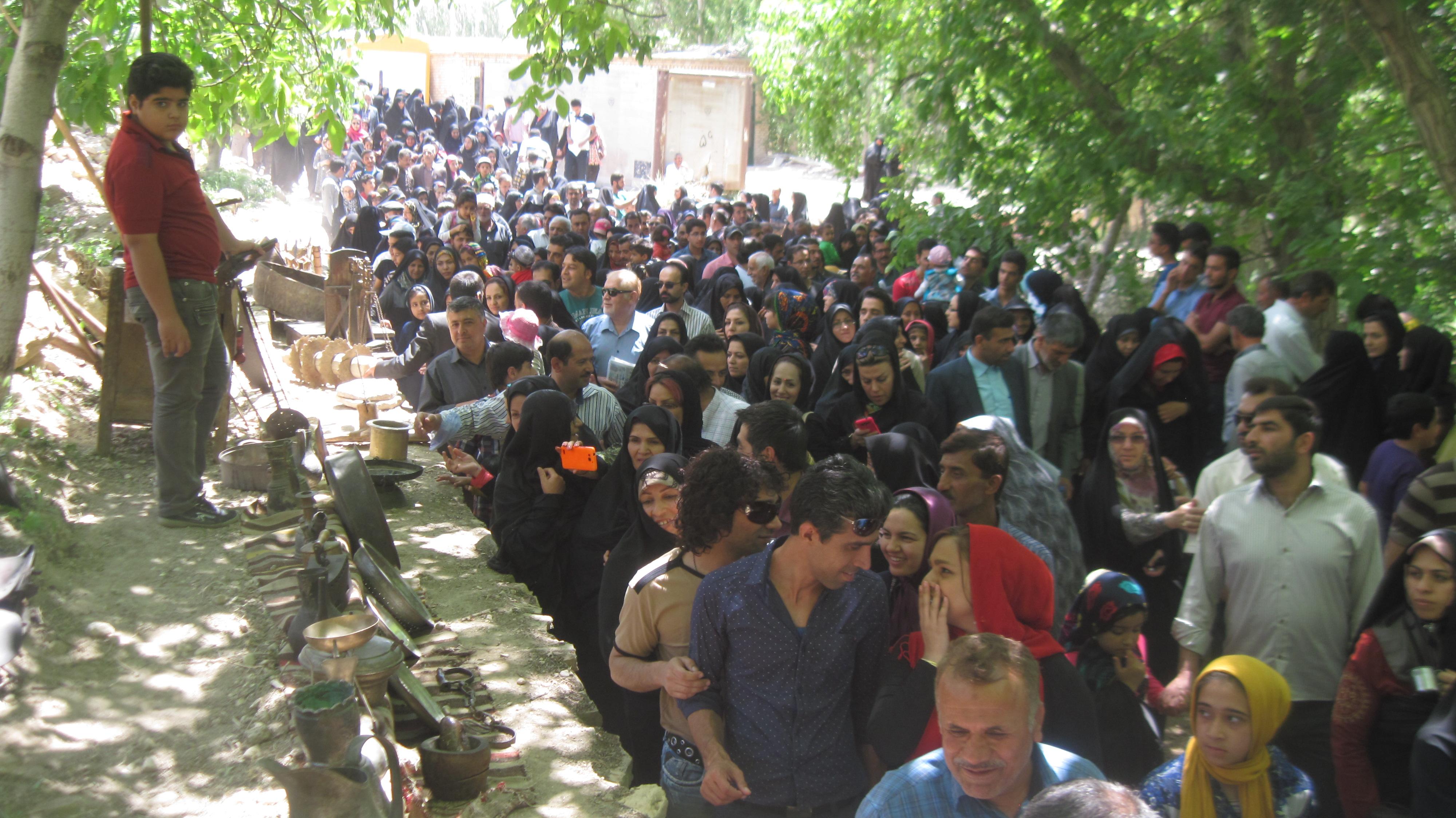 دومین جشنواره آئین امامدر (شیردوشان) شهر دیباج