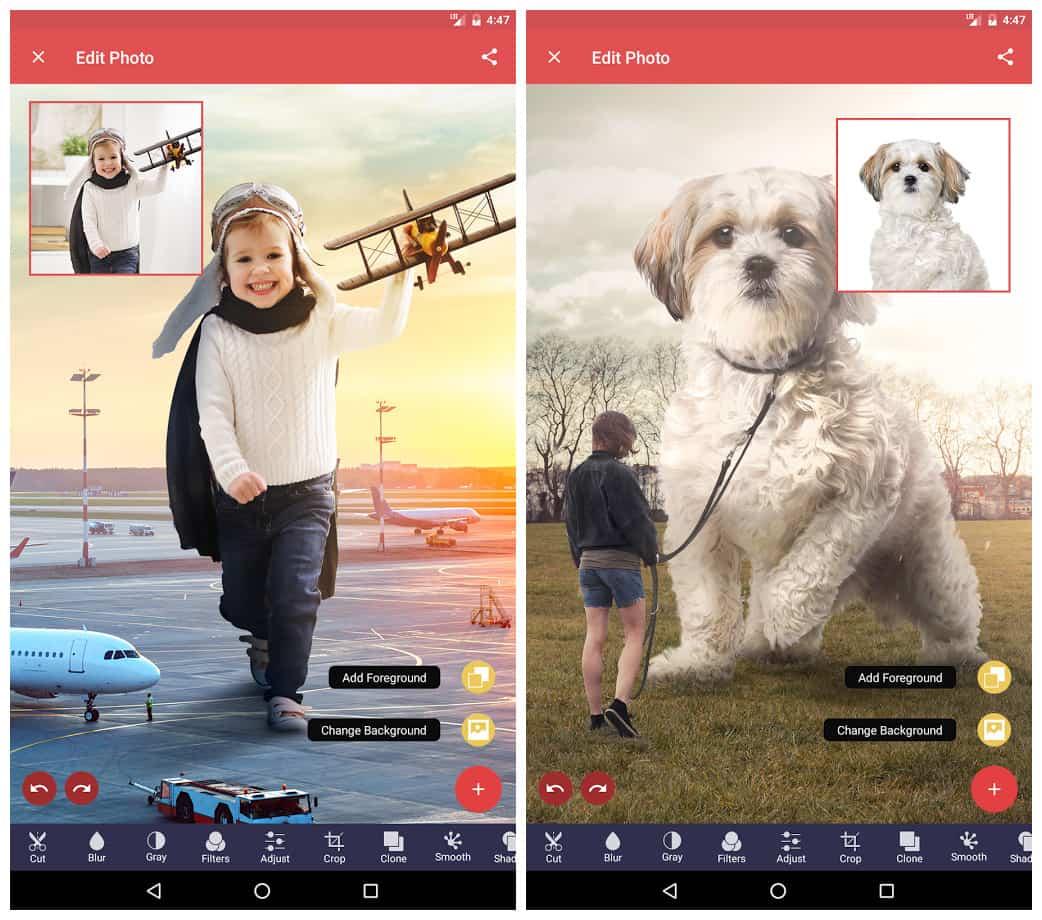 دانلود  Pixomatic photo editor Premium Mod Apk v4.7.1 ویرایشگر عکس اندورید