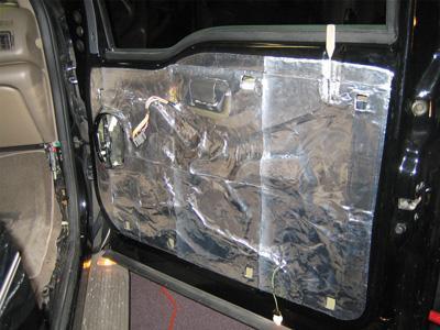 نتیجه تصویری برای عایق بندی درب خودرو
