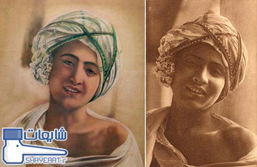 نقاشی شمایل حضرت محمد(ص) در سن هجده سالگی توسط راهب مسیحی !! / شایعه ۰۵۹۸