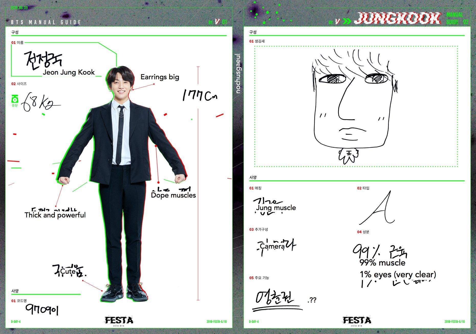2qk1 dfmwva1x0aaauy7 - [Picture] 2018 BTS FESTA : BTS MANUAL GUIDE [180809]