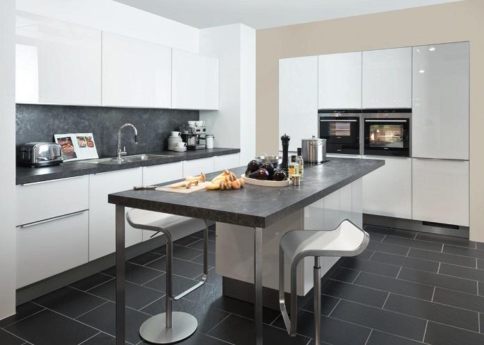 نمونه طرح های کابینت سفید آشپزخانه(بخش اول)