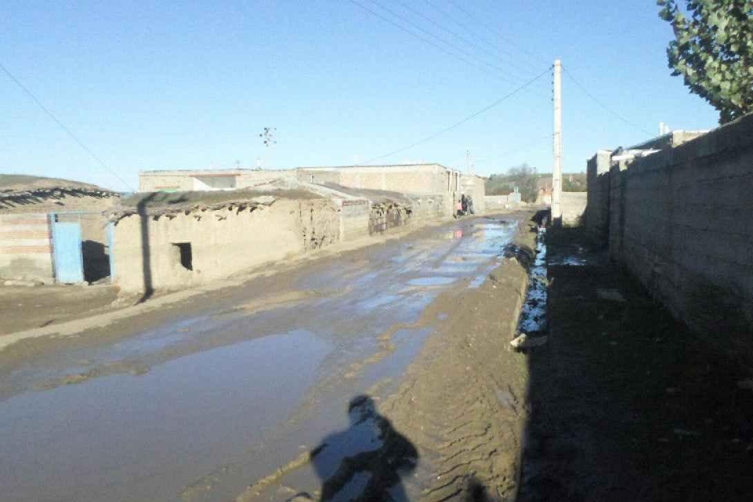 گلایه اهالی از بی توجهی به معابر روستائی در منطقه