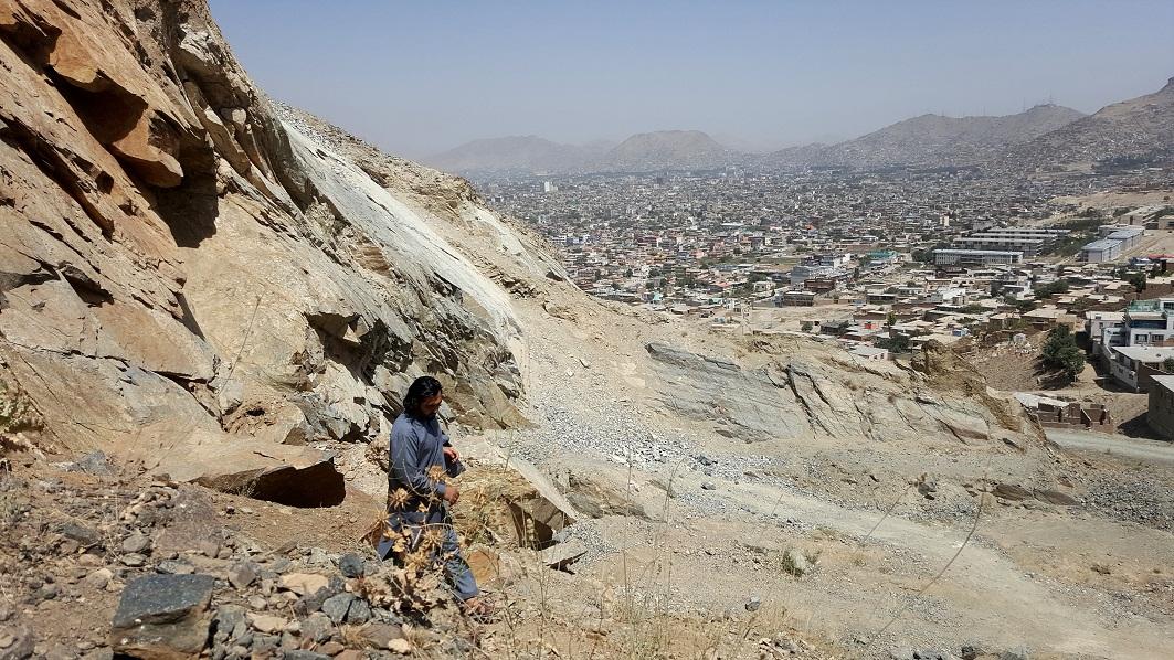 شهر زیبا کابل از بلندای کوه چهلستون