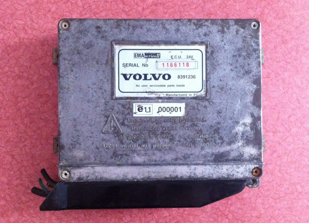 ای سی یو ولوو کنترل سرعت ECU 24V VOLVO EMA series II