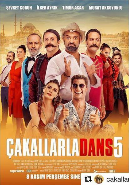 فیلم ترکیه ای Çakallarla Dans 5 |فیلم هایی که ساغر بازی کرده